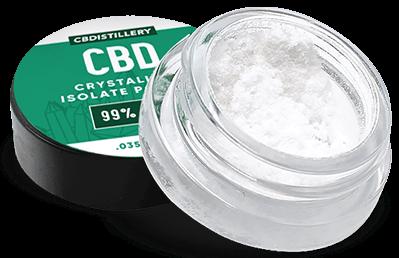 cbd isolate crystals